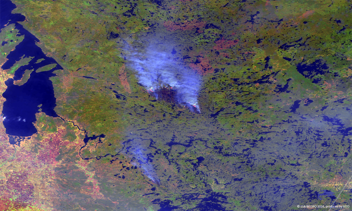 Wildfires Canada