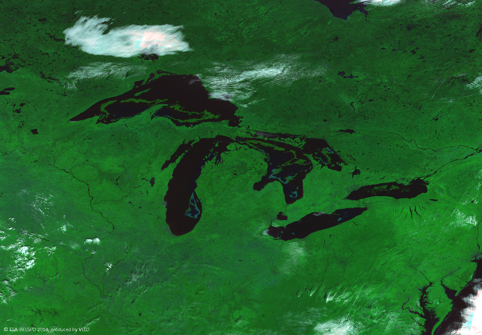 The Great Lakes, USA