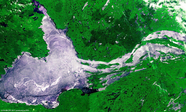 Great Slave Lake Canada Proba V