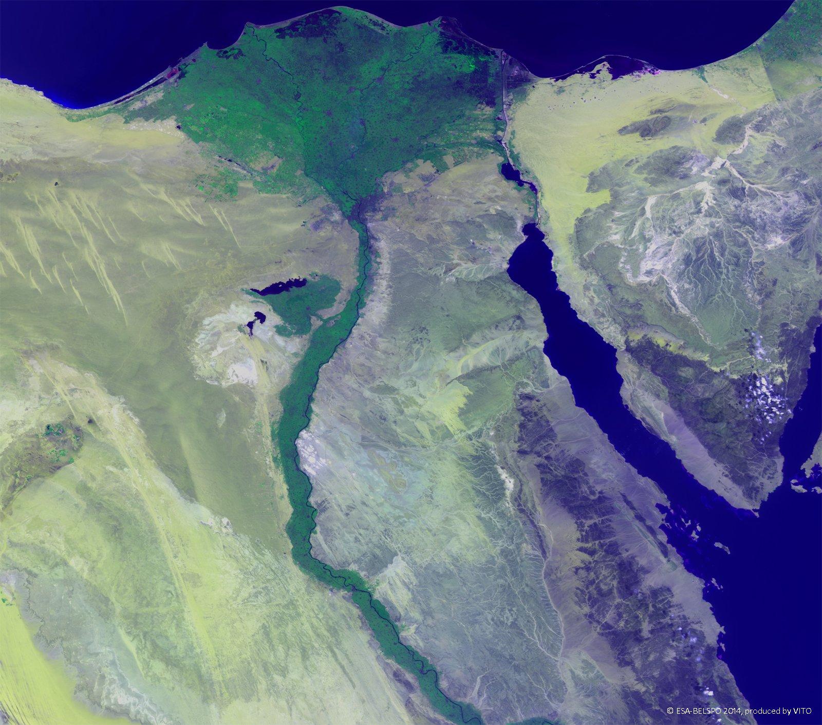 Delta Egypt - Map of egypt nile delta